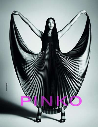 PINKO Campaign 2012 with Naomi Campbell