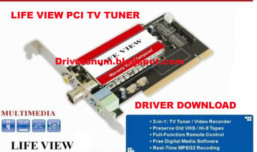 LIFEVIEW PCI TV TUNER DRIVER DOWNLOAD