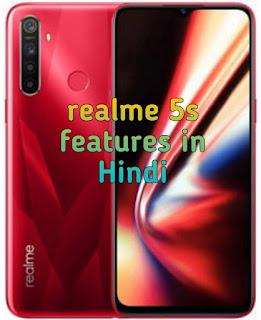 Realme 5s smartphone