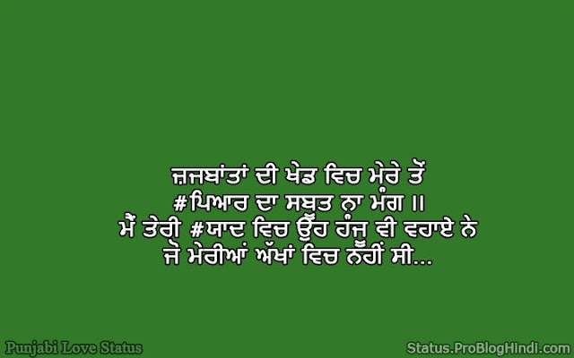 love status quotes punjabi