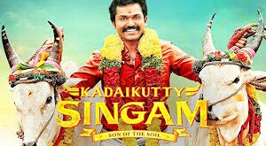 Kadaikutty Singam (2019) is a tamil language action drama film starring Karthi, Sayyeshaa and Arthana Binu  in the lead roles