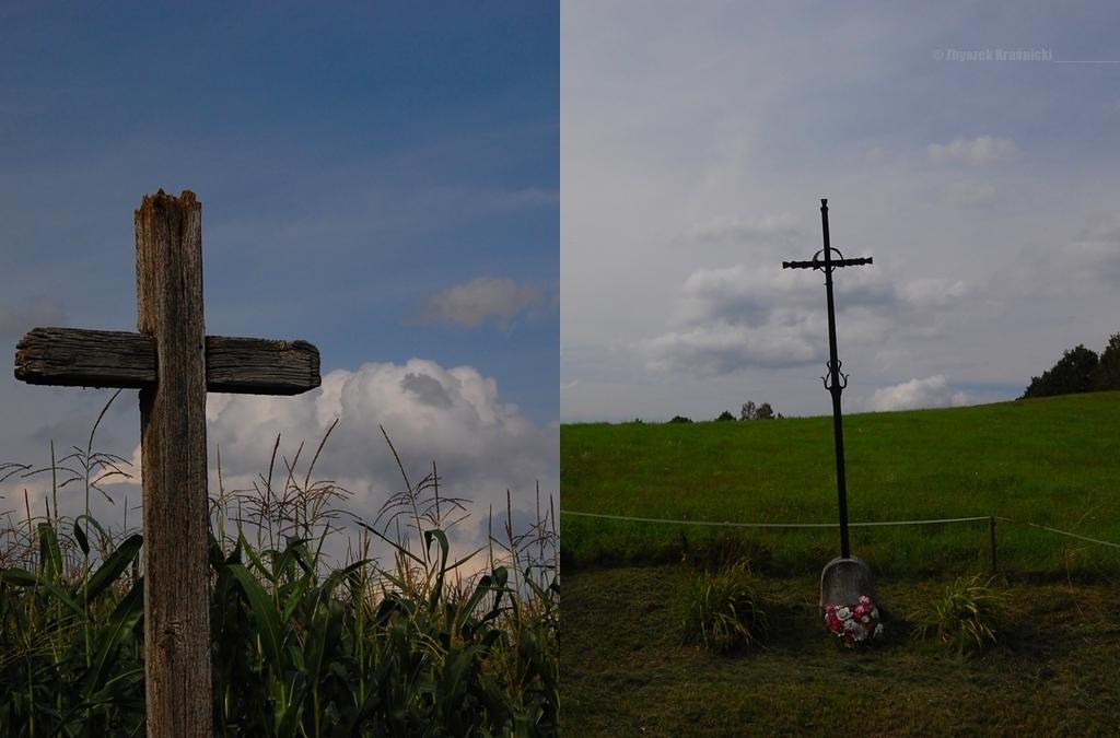 Stoczk Klasztorny, krzyż przydrożny