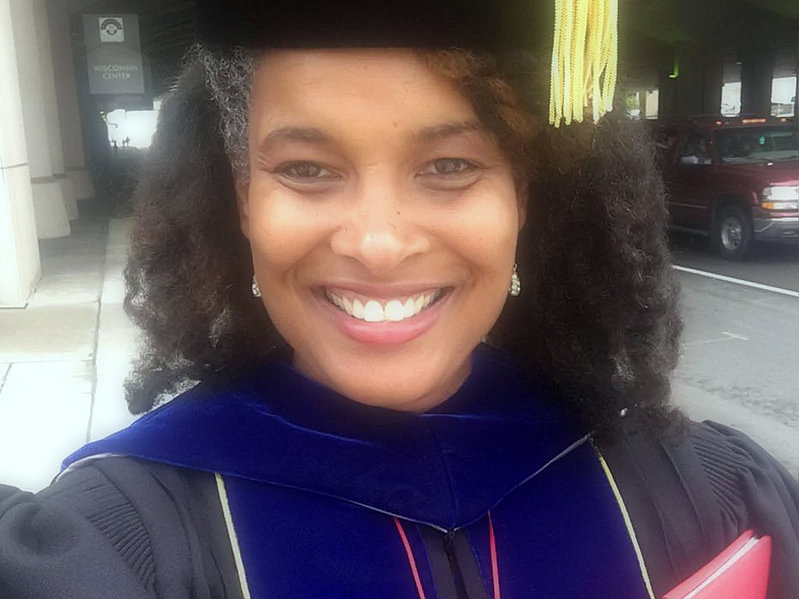 Marijuana Pepsi gets her doctorate after refusing to change her birth name
