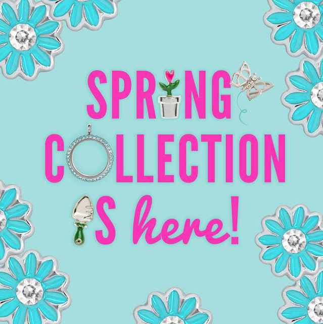 Origami Owl Spring Collection is available at StoriedCharms.com
