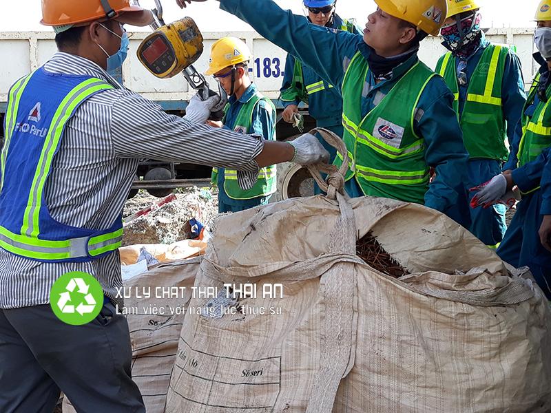 Dịch vụ xử lý chất thải dành cho nhà máy sản xuất điện (Nhiệt điện)