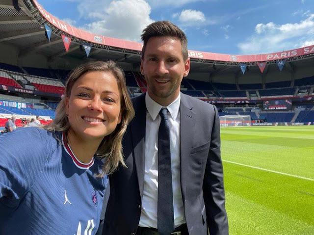 Lionel Messi at PSG photos