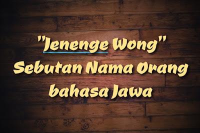 alternative nama orang bahasa jawa