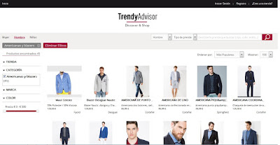 buscador, menswear, moda, moda masculina, online, tienda online, TrendyAdvisor, venta online, web, womens wear,