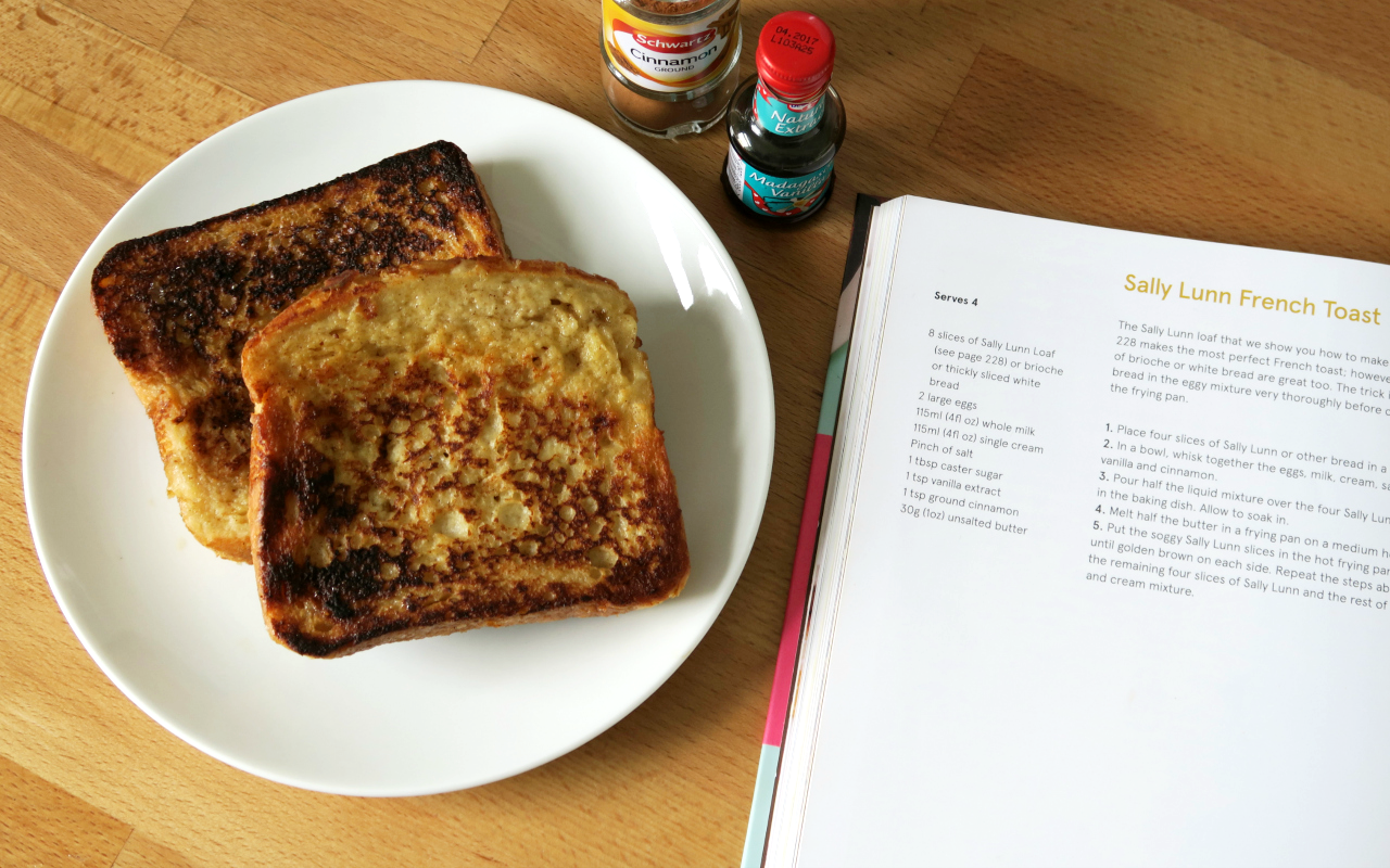 The Hummingbird Bakery Life is Sweet Sally Lunn French Toast Recipe