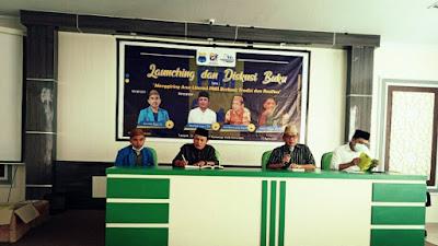 Harlah PMII ke-61, PMII Kota Gorontalo Launching Buku Antologi Pemikiran PMII
