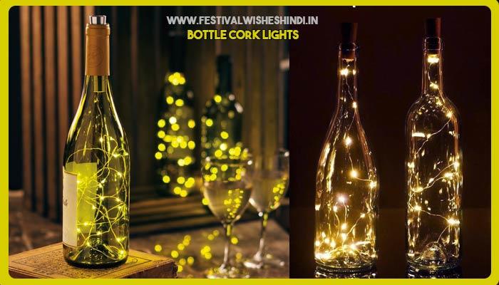 Bottle Cork Lights for Diwali 2019