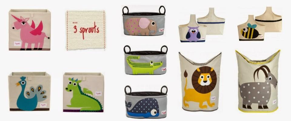 To2bebe kids 3 sprouts en espa a toallas arc n de juguetes caja de almacenaje cesta de - Almacenaje de juguetes ...