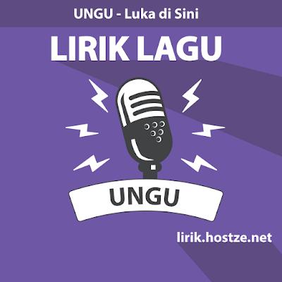 Lirik Lagu Luka di Sini - Ungu - Lirik lagu indonesia