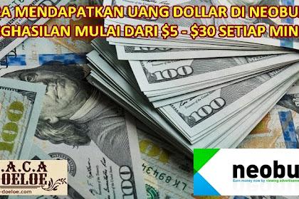 Bukti Pendapatan $30 Dollar dari situs PTC Neobux Terbaru