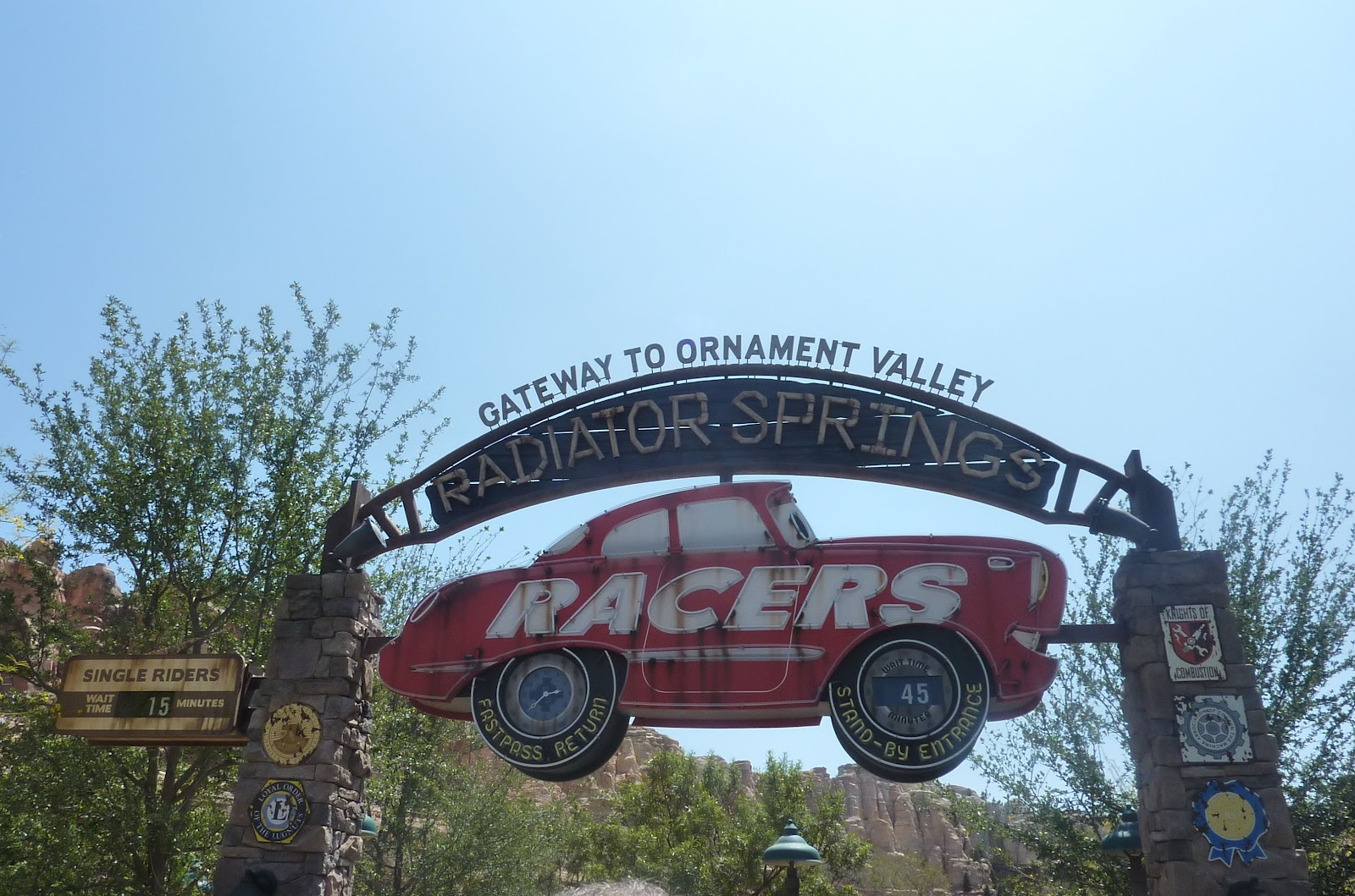 Laura's Miscellaneous Musings: Cars Land Preview: Radiator