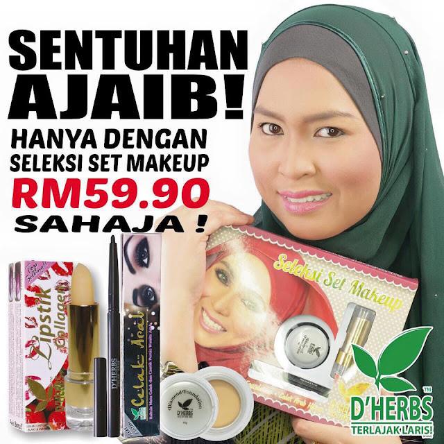 Testimoni Seleksi Makeup D'Herbs