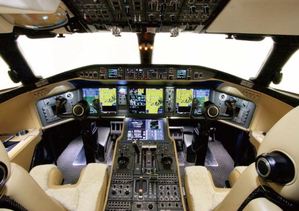 Bombardier Global 5000 cockpit