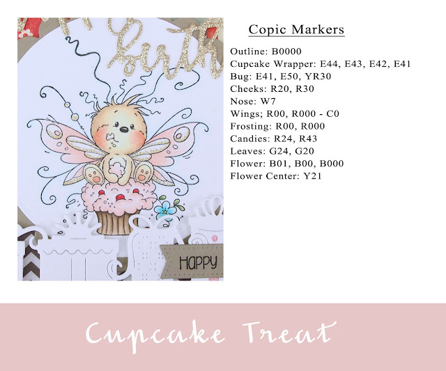 Heather's Hobbie Haven - Cupcake Treat Card Kit