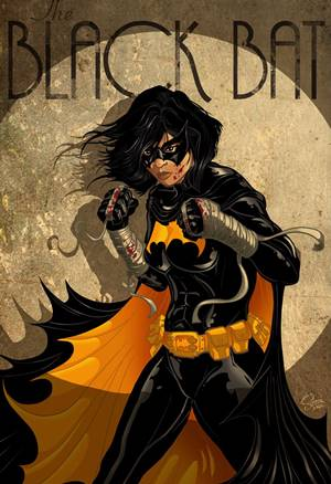 Cassandra Cain se convirtió en Black Bat, miembro de la Bat-Familia