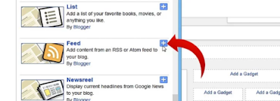 How To Find The RSS Feed URL of any  Blogger  Blog address