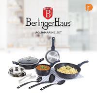 Dusdusan Berlinger Haus Aquamarine Cookware Set (Set of 10) ANDHIMIND