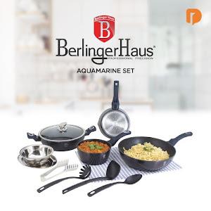Berlinger Haus Aquamarine Cookware Set (Set of 10)