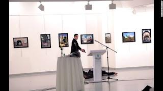 Russian ambassador to Turkey shot dead in Ankara art gallery