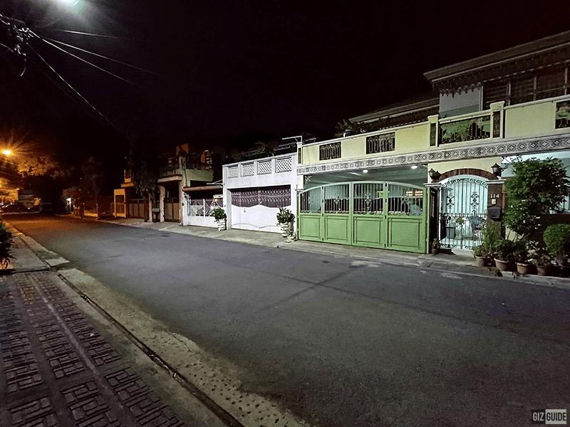 Night mode ultra-wide