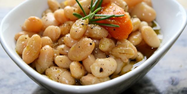 4sp - Crockpot Rosemary & Garlic Cannellini Beans | Weight Watchers