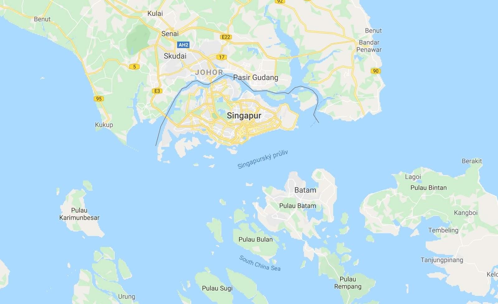 noční rande v Singapuru