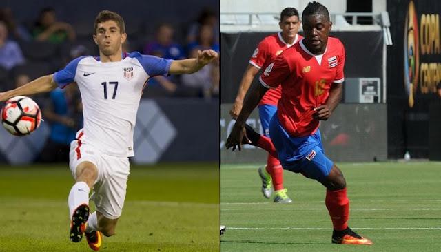 Estados Unidos vs Costa Rica en vivo Copa America 2016