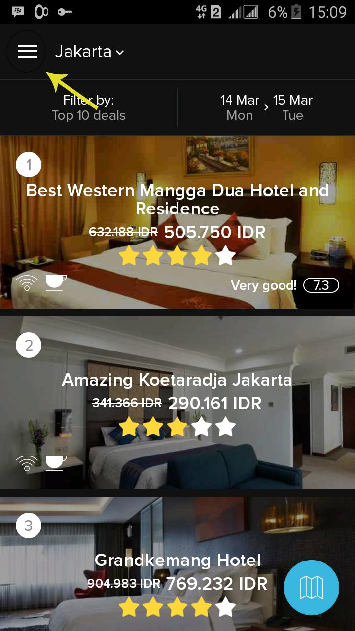 Penawaran Menarik Voucher Gratis Untuk Menginap Di Hotel Bintang Jakarta Best Western Mangga Dua 2 Buka Aplikasi Hotelquickly Pilih Register Now Anda Dapat Mendaftar Menggunakan Account Facebook Atau Google