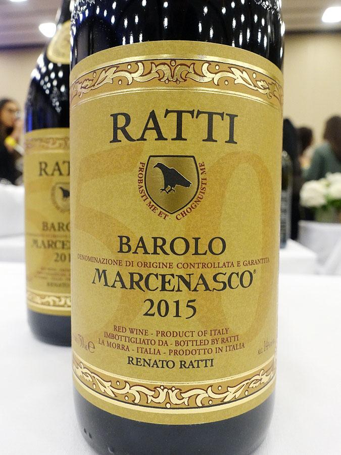 Renato Ratti Marcenasco Barolo 2015 (92 pts)