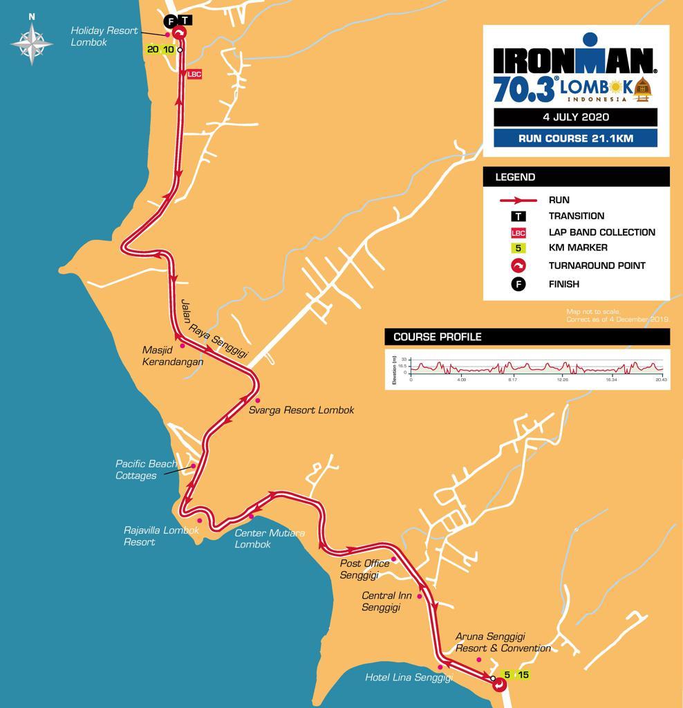 Run � Ironman 70.3 Lombok • 2020/2021