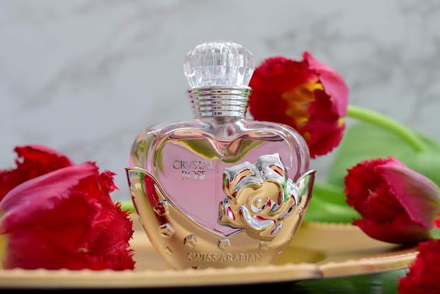 perfumy kryształowa róża