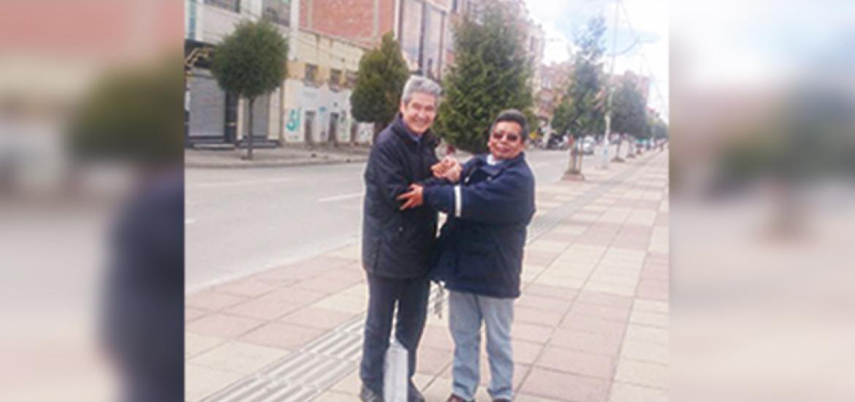 José Luis Paredes comienza a rescatar a sus seguidores en la urbe alteña / EL ALTEÑO