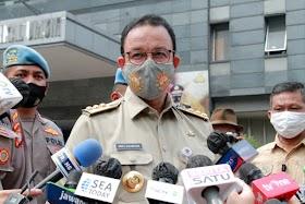 Ditanya Kelanjutan Jual Saham Bir, Anies Baswedan Beri Jempol