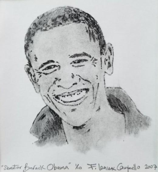 Senator Barack Obama - 2007 by F. Lennox Campello