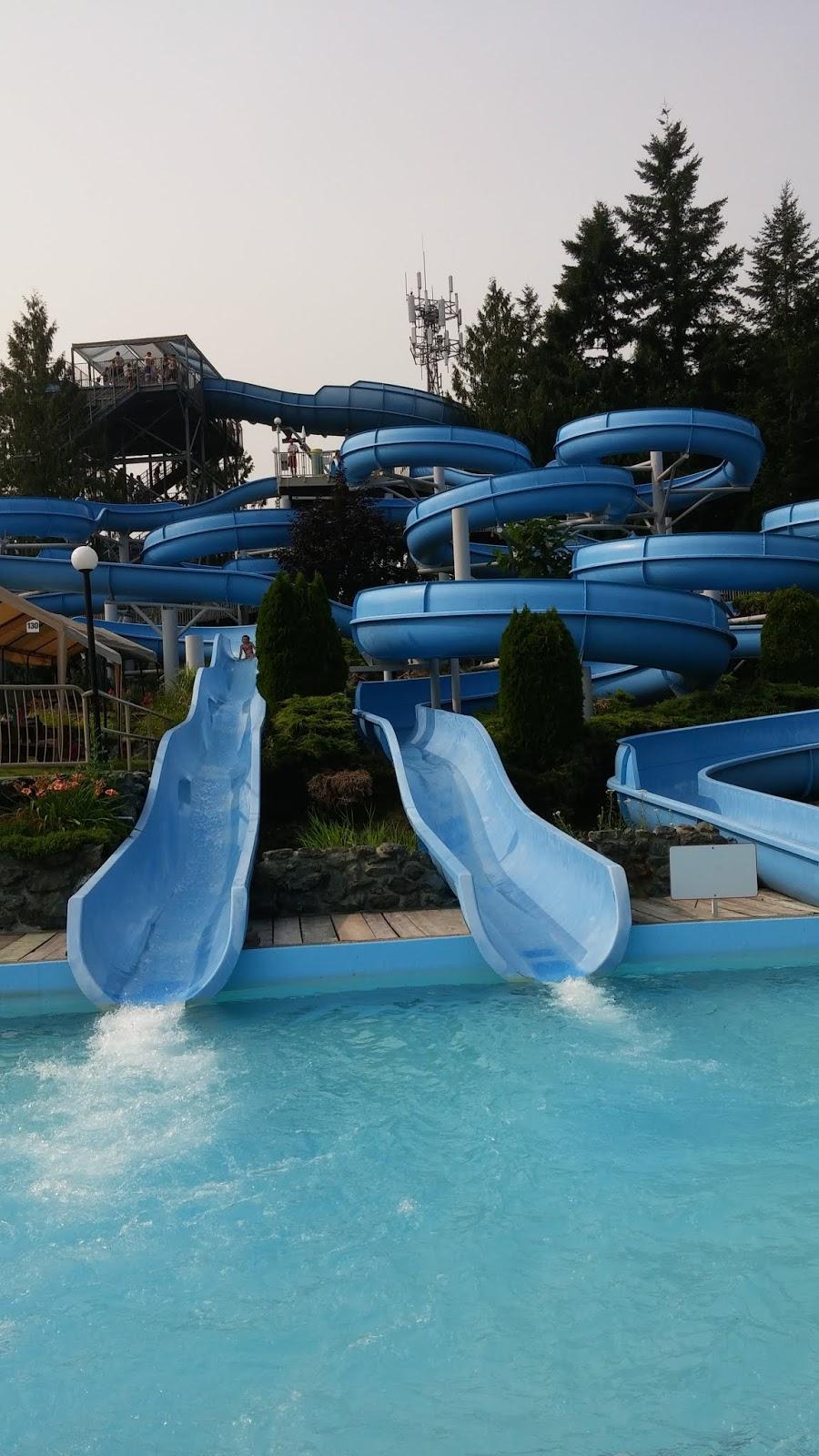 Family's favorite water park- Cultus Lake Waterpark.