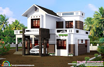 Simple 1524 Sq-ft House Plan - Kerala Home Design And