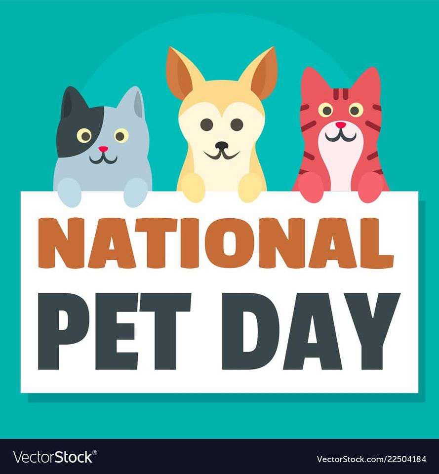 National Pet Day Wishes Awesome Picture