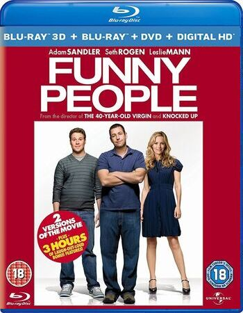 Funny People 2009 BluRay 720p 480p Dual Audio In Hindi
