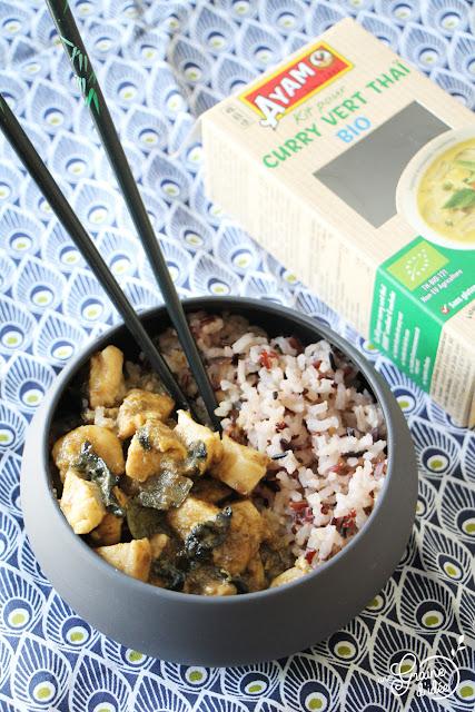 Curry Vert Thaï au Poulet Ayam Degustabox Recette facile Salée