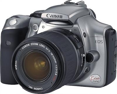 Canon EOS Kiss Digital DSLRファームウェアのダウンロード
