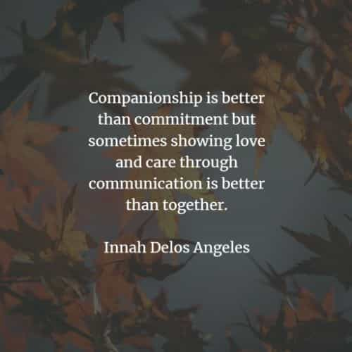 Companionship quotes that will positively inspire you