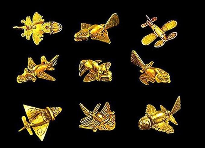 Quimbaya Artifact The Ancient Airplanes