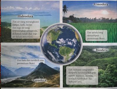 empat komponen utama sistem bumi
