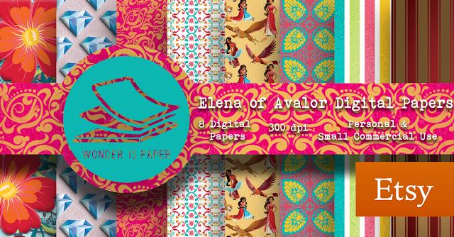 Papeles digitales: Elena de Avalor
