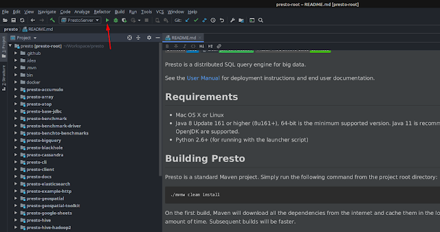 Setup Presto SQL Development Environment