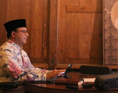 Hasil Survei IPO, Anies Masih Jadi Gubernur Paling Responsif Tangani Pandemik Covid-19